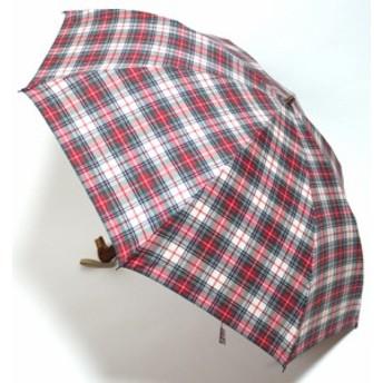 母の日 傘レディースおしゃれ 日本製 2段傘折りたたみ traditional レディース「かも手もと」【折り畳み傘 折畳 折畳み 雨傘 umbrella】