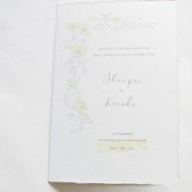 結婚式席次表(3セット):若菜