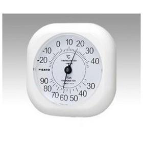 SATO/佐藤計量器製作所  ソフィア温湿度計 1014-00 ソフィア