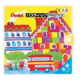 Pentel/ぺんてる  パスティック 15色  GC1-15
