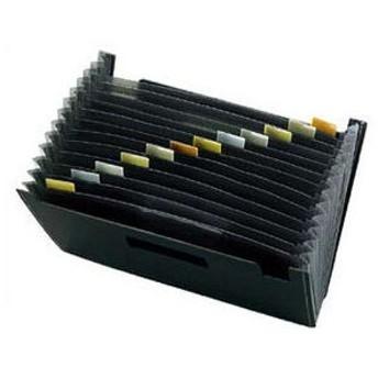 sedia/セキセイ A4ドキュメントスタンド 12ポケット/FB−2312ブラック
