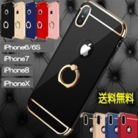 リング付きiPhoneケース 4 オシャレスマホケース ハンガーリング スマホリング リング付きスマホケース アイホンケース