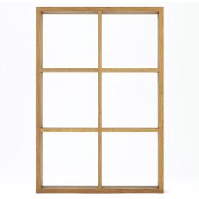 HOME COORDY オープンシェルフブラウン2×3 ホームコーディ 幅86.6×奥行29.6×高さ126.3cm シェルフ・ディスプレイラック