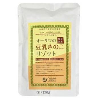 【宅配便のみ】オーサワの発芽玄米豆乳きのこリゾット 180g