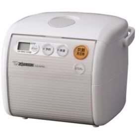 炊飯器 3合 マイコン 象印 3合炊き マイコン 炊飯ジャー NS-NF05 WA (ホワイト) 【送料無料】|4974305211378:最寄家電