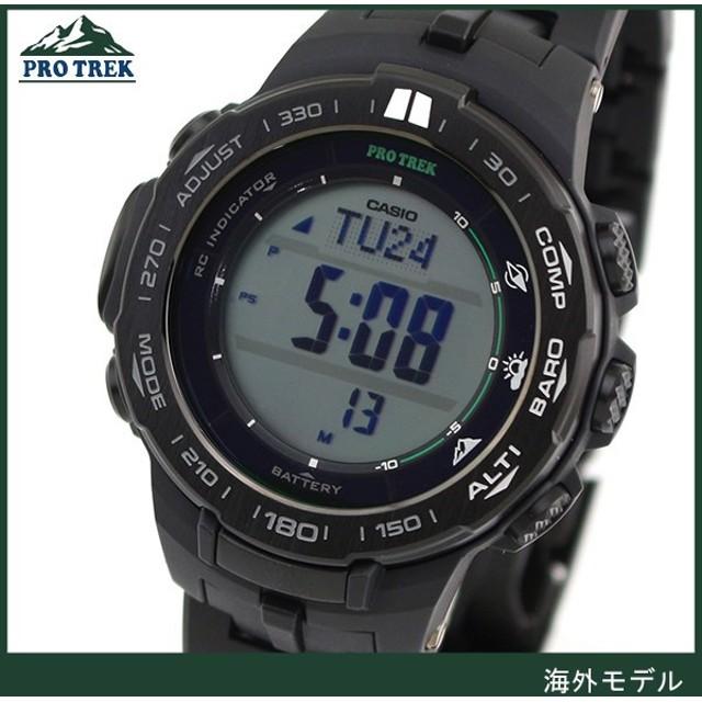 4c201ea52a PRO TREK プロトレック CASIO カシオ タフソーラー 電波時計 PRW-3100FC-1 デジタル