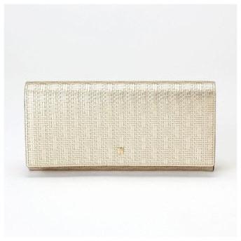 トプカピ TOPKAPI RITMO[リトモ]メッシュ柄型押し・長財布 (シャンパン)
