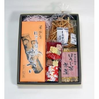 FY‐01 全国創作菓子金賞受賞!しいたけせんべいとお茶うけセット