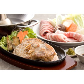 鹿児島黒豚ステーキしゃぶセット