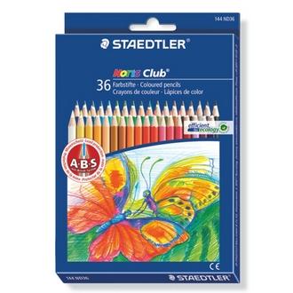 【施德樓】MS144ND36 快樂學園油性色鉛筆36色入 / 盒