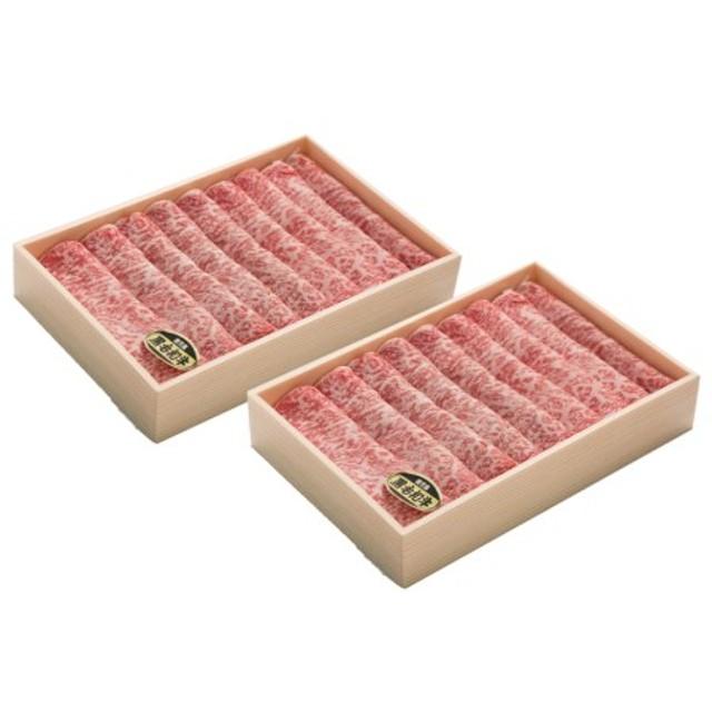 鹿児島県産黒毛和牛(A4等級)特上すき焼き用ロース1kg