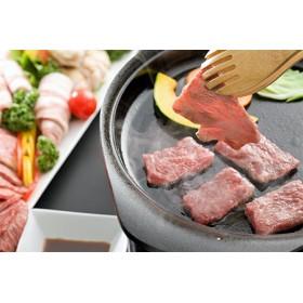 A-⑤ 鹿児島県産黒毛和牛・黒豚焼肉セット(660g!!)