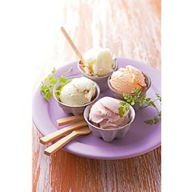 国東旬果で作った4種の無着色アイス(8個)・通