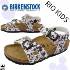 3b437fc4a4b88 ビルケンシュトック BIRKENSTOCK リオ キッズ 女の子 子供靴 キッズ ジュニア サンダル 0334983 Rio Kids ミッキーマウス