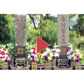 お墓の清掃代行サービス 【300pt】