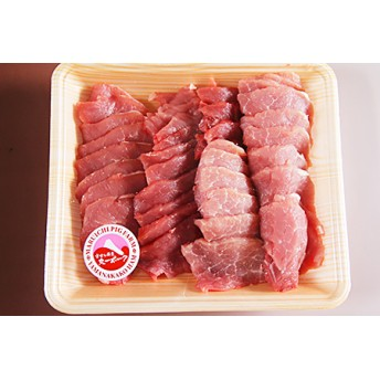 富士ケ嶺ポーク焼肉用 もも肉800g