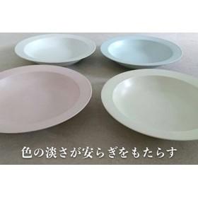 【届いたその日から大活躍間違いなし♪】永峰窯 パステル20㎝リム皿4色セット【波佐見焼】