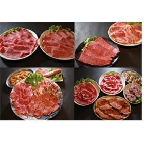 お肉屋さんの長崎和牛、じげもん豚、長崎名水鶏のセット②