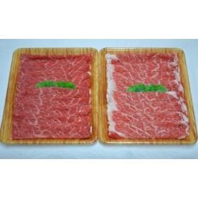 豊後・米仕上牛リブロース・もも肉すき焼きセット計600g【豊後高田市限定】