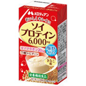メロディアン ソイプロテイン きなこ味 125ml 1セット(24本)