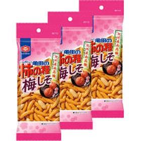 亀田製菓 亀田の柿の種梅しそ 60g <パーソナル> 1セット(3袋)