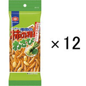 亀田製菓 亀田の柿の種わさび 68g <パーソナル> 1セット(12袋)