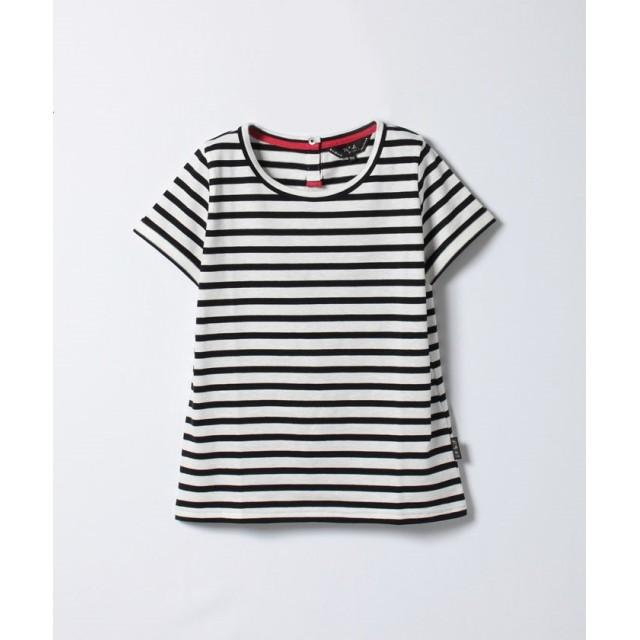 アニエスベー WC60 TS ボーダーTシャツ レディース ブラック F 【agnes b.】
