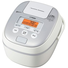 タイガー 炊飯器 5.5合 IH ホワイト 炊きたて 炊飯 ジャー JPE-A100-W