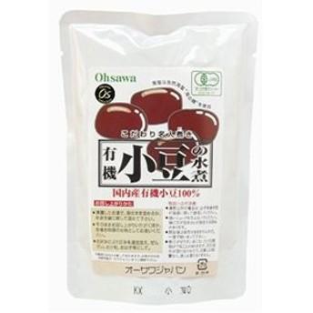 オーサワの有機小豆の水煮 230g(固形量200g)