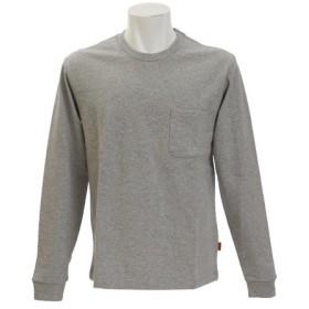 クリフメイヤー(KRIFF MAYER) 無地タフ 長袖Tシャツ 1745100A-2-GRY (Men's)