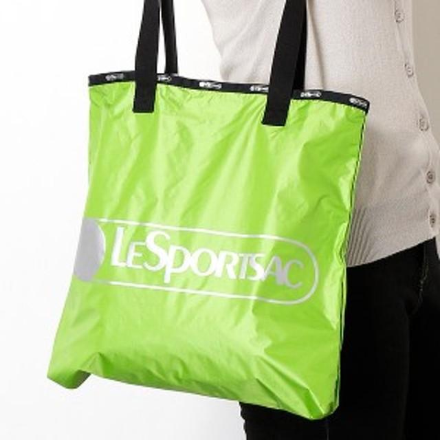 レスポートサック(LeSportsac)/【WEB限定】LOGO TOTE/スプリンググリーンC