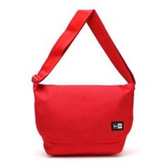 【正規取扱店】ニューエラ ショルダーバッグ NEW ERA メッセンジャーバッグ 斜めがけバッグ ショルダー 通学 9L メンズ レディース Shoulder Bag レッド
