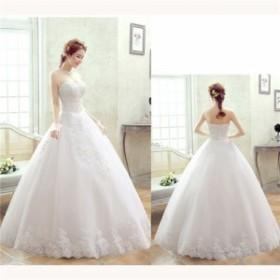 ウェディングドレス 二次会 ウエディングドレス ロング 二次会ドレス パーティードレス ロングドレス 花嫁ドレス トレーンドレス