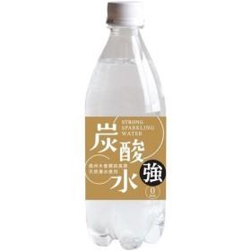 国産 天然水仕込みの強炭酸水 ナチュラルストロング ( 500mL24本 )/ 友桝飲料