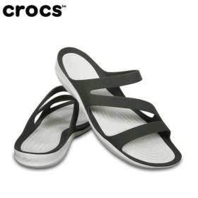 クロックス サンダル レディース Women's Swiftwater Sandal スウィフトウォーター サンダル ウィメン 203998 06X crocs crocs