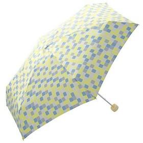 w.p.c 折りたたみ傘 キューブ mini 手開き イエロー 53cm 703-198 ( 1本入 )/ w.p.c