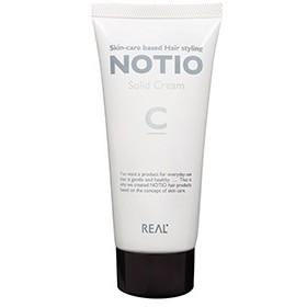 リアル化学 ノティオ NOTIO ソリッド クリーム 90g <ヘアスタイリング・ハンドクリーム>