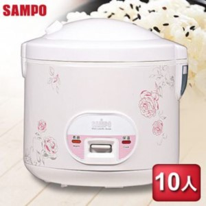 SAMPO聲寶 10人份機械式電子鍋 KS-AF10