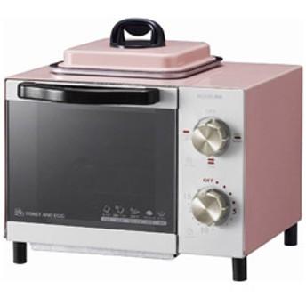 オーブントースター (800W) KOS-0703-P ピンク