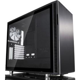 Define R6 - Black - Tempered glass FD-CA-DEF-R6-BK-TG (ミドルタワーケース/電源別売り/ブラック)
