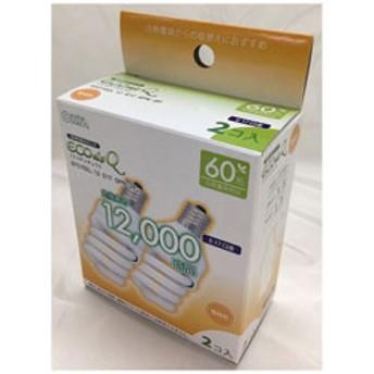 電球型蛍光灯 スパイラル 60Wタイプ E17 2P EFD15EL12E17SPN2P 電球色