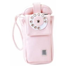携帯電話 ガラケー ケース ピンク電話 公衆電話型 モバイルケース