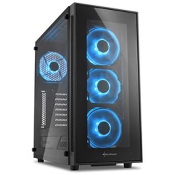 TG5 Blue SHA-TG5-GB (ミドルタワーケース/電源別売り/ブラック・ブルーLED)