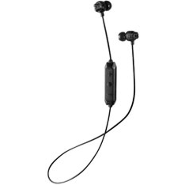 ブルートゥースイヤホン カナル型 HA-FX101BTB ブラック [Bluetooth]