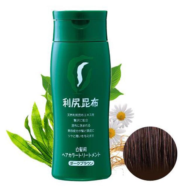【首購優惠】Sastty 利尻昆布染髮劑-咖啡色 日本第一台灣代理
