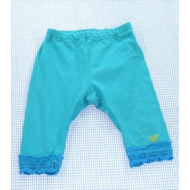 1c5c2e541d04c イエローベイブ YELLOW BABE レギンス パンツ 80cm 緑系 女の子 子供服 キッズ ベビー