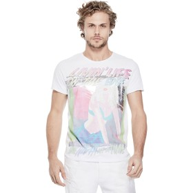 Tシャツ - GUESS【MEN】 [GUESS] LIVING LIFE ON THE EDGE GRAPHIC TEE
