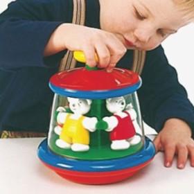 BorneLund ボーネルンド Ambi Toys アンビ・トーイ テディ・ゴーラウンド ~モダンデザインのベビートイ・ブランド、アンビ・トーイのク