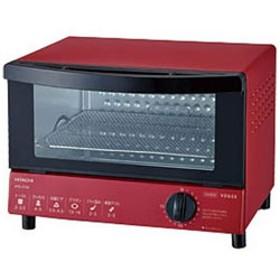 オーブントースター(1000W) HTO-CT30-R レッド