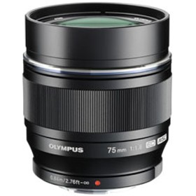 M.ZUIKO DIGITAL ED 75mm F1.8 ブラック [マイクロフォーサーズ] 望遠レンズ